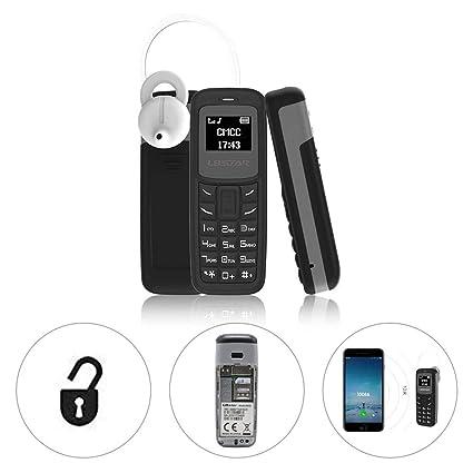 Amazon.com: L8STAR BM30 Mini teléfono único SIM TF tarjeta 0 ...