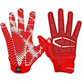Cutters S652 Gamer 3.0 Padded Receiver Glove-Adult: Large-RED
