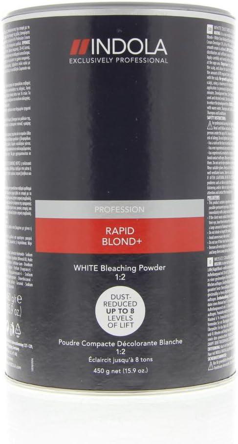 INDOLA RAPID BLONDE+ WHITE BLEACHING POWDER 450G