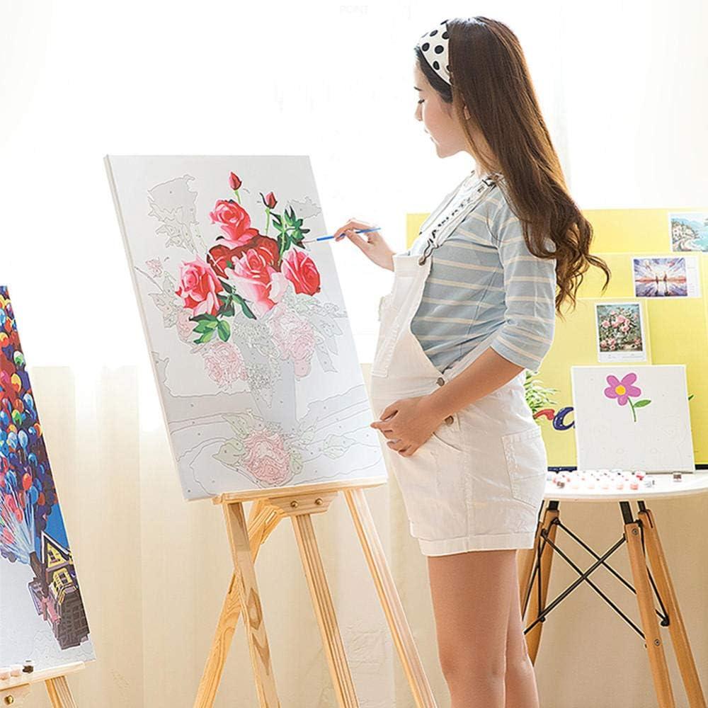 zhxx Peinture par Num/éro Adulte Toile De Couleur Un Chaton Rampantanimal DIY Peinture /À lhuile Acrylique Grand Format Art Cadeaux Enfant avec Cadre 40X50CM