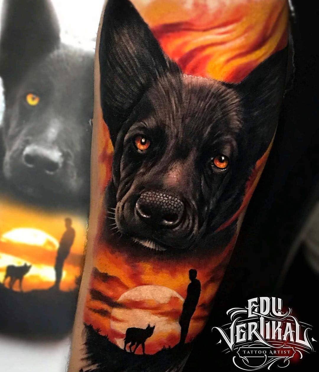 Tinta para tatuaje. Black Dynamite 1oz (30ml.) VIKING INK USA ...