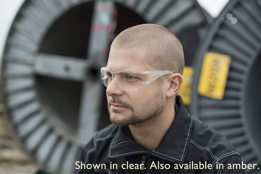 Clear Lens 3M SecureFit Protective Eyewear SF201AF Anti Fog Coating 00078371657178