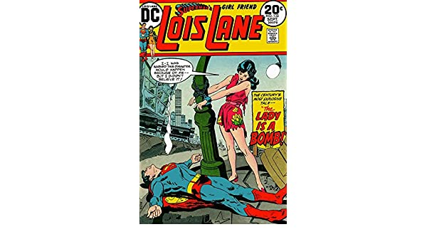 abbfa15e5 Amazon.com: Superman's Girl Friend Lois Lane #133 FN ; DC comic book ...
