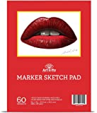 60 Sheets 9 x 12 Marker Paper For Markers Drawing Marker Sketchpad For Sketching Marker Pad