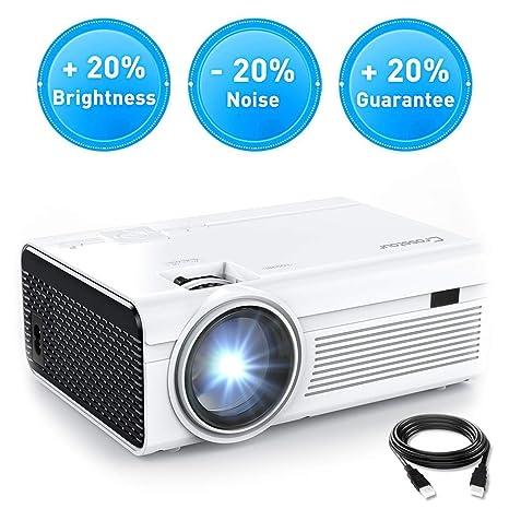 Proyector, Cine de casa para proyector de vídeo Crosstour Mini LED ...