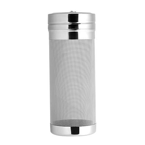 Tolva seca, 300 Micron filtro de cerveza de malla de acero inoxidable para casera Brew Home Coffee Dry Hopper cartucho de filtro