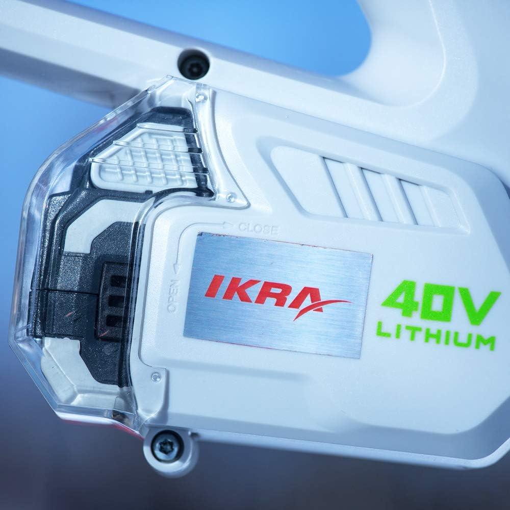 Bater/ía de ion de litio 40 V, 2,5 Ah IKRA 17180929-AZ2 ONE FOR ALL Negro