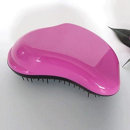 Peine portátil Detangling enredado cepillo de pelo estilo Magic Comb herramienta de alisado profesional Styling Salon