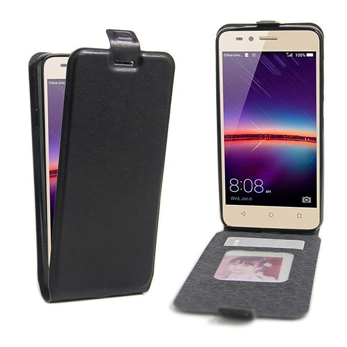 1 opinioni per Huawei Y3II/Y3 2 Wallet Cover, SMTR Custodia In Pelle Con Wallet Case Cover Per