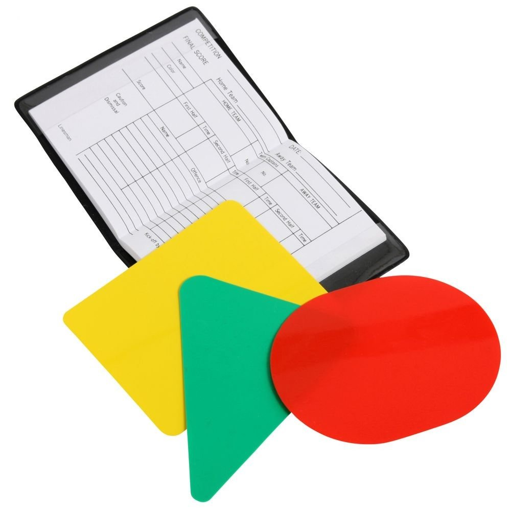 Reece Referee Card Set