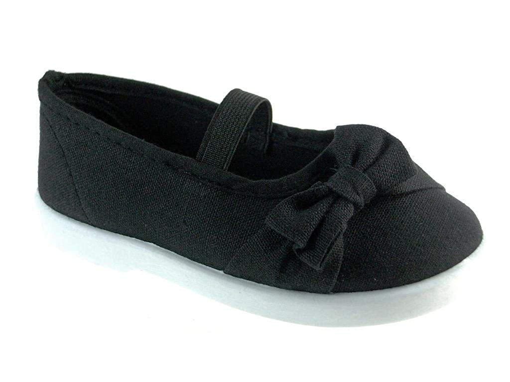 Delic8 Toddler Girls Adore-55I Canvas Mary Jane Flats Delic-Adore-55-I