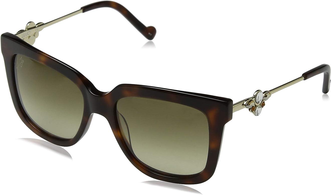 Liu Jo Lj690Sr 218 53 Gafas de Sol, Blonde Tortoise, Mujer ...