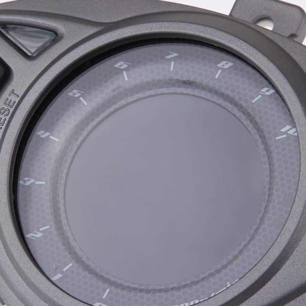 KESOTO Calibro Tachimetro Contachilometri Contagiri Display LCD Per Moto Yamaha RSZ100