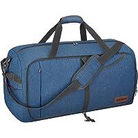 CANWAYボストンバッグ 折りたたみスポーツバッグ スーツケース固定 大容量 靴収納旅行バッグ 軽量