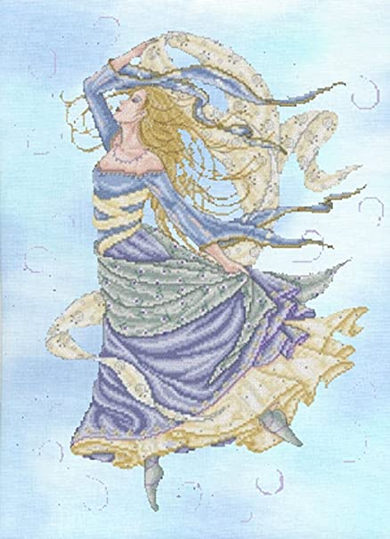 Elemental Air Goddess By Joan Elliott Cross Stitch Chart