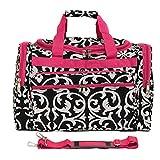 World Traveler Damask 22-Inch Travel Duffle Bag