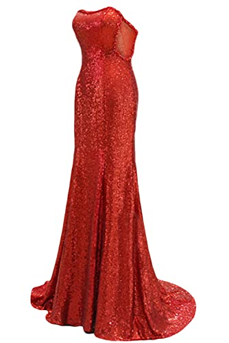 Amazon.com: Sunvary Junoesque Sequins Mermaid Evening Dresses for Woman Prom Gown: Clothing