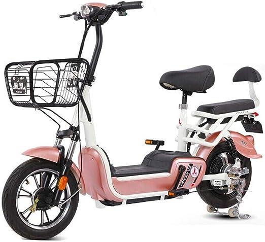XMIMI Bicicleta eléctrica Batería Booster Pedales para Llevar Mini ...