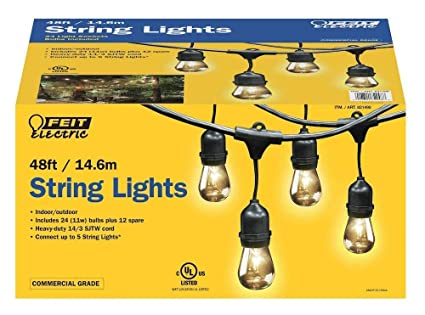 Feit Electric String Lights Simple Amazon Feit Electric 600ft 60060m Outdoor String Lights600
