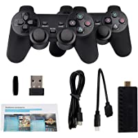 Mini TV Video Game Console With 2.4G Dual Wireless Controller Built-in 3500 Classic Games Handheld Retro Game Console HD…