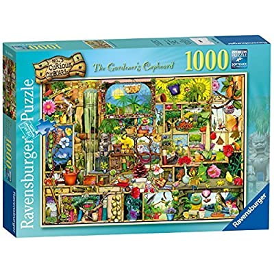 Ravensburger Colin Thompson The Gardeners Cupboard Puzzle 1000 Piece By Ravensburger