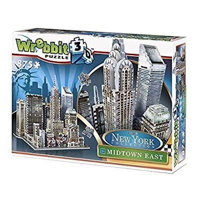 Wrebbit 3d Puzzle New York Collection Midtown East By Wrebbit 3d Puzzle