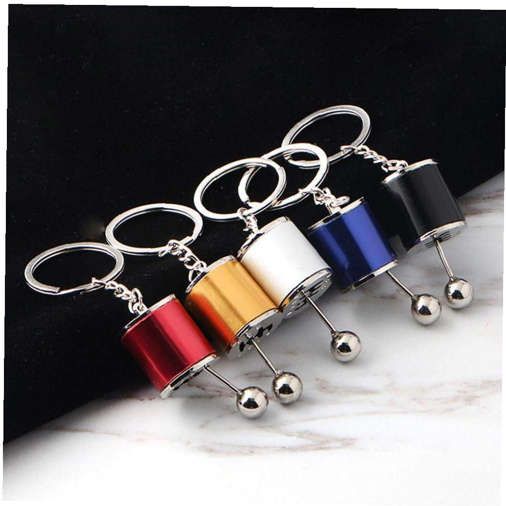 Key Chains Gear Knob Car Accessories Gear Shift Gear Stick Box Metal Key Chain Key Fob Car Ornament