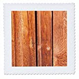 3dRose Alexis Photography - Texture Wood - Three weathered wooden planks with gaps between them - 25x25 inch quilt square (qs_273700_10)