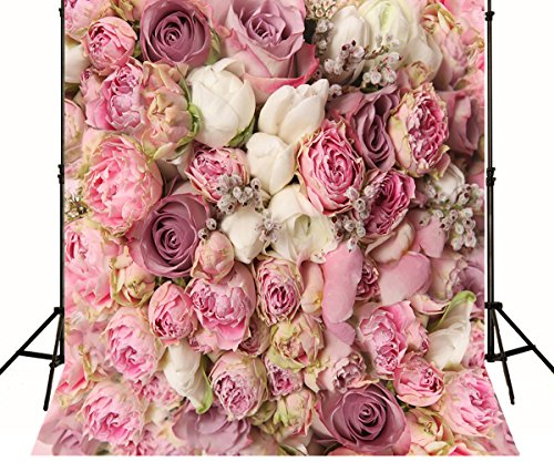 Generic Beautiful Floral Wedding Backdrops Party Photo Background Elegant Flowers Photography Decoration for Bride 1114