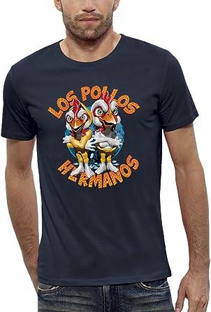 Camiseta LOS POLLOS HERMANOS - PIXEL EVOLUTION - Hombre: Amazon.es: Ropa y accesorios