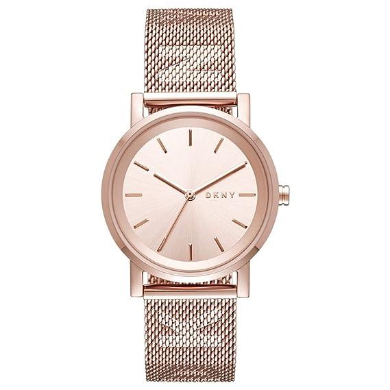 DKNY Reloj Analogico para Mujer de Cuarzo con Correa en Acero Inoxidable NY2622: Amazon.es: Relojes