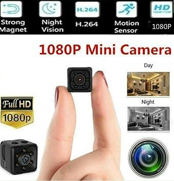 Amazon.com: Mini cámara de vídeo oculta Micro HD visión ...