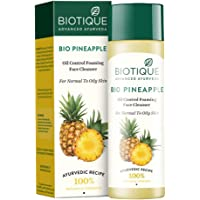 Biotique Bio Pineapple Oil Control Foaming Face Cleanser Normal to Oily Skin (120 ml)