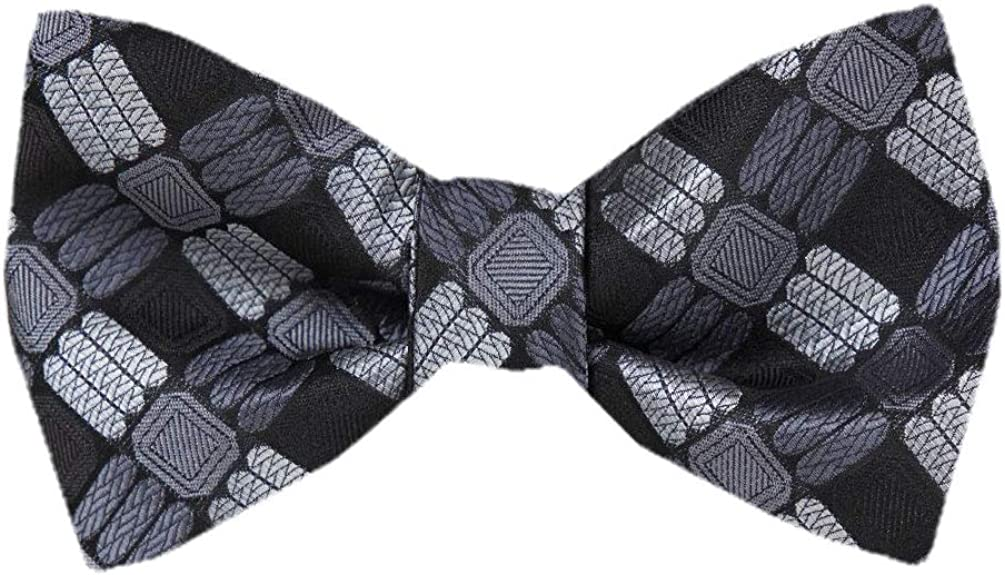 Self Tie Silk Bow Tie XL for Men Big and Tall Many Colors and Patterns.