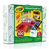 Crayola Ultimate Doodle Box Over 100 Crayons, Markers, Pencils, Paints, Paper and More