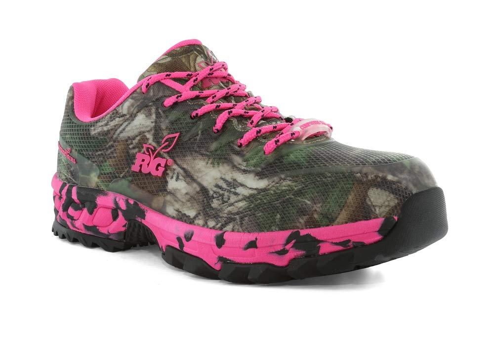 Realtree Women's Rattler Safety Toe Athletic Footwear Size 9