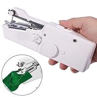Mini Macchina da Cucire Portatile, AOWEIKA Elettrica Handheld Cordless Strumento di Cucitura Rapida, Casa E Viaggio per Vestiti, Stoffa, Tenda, e Fai-da-te