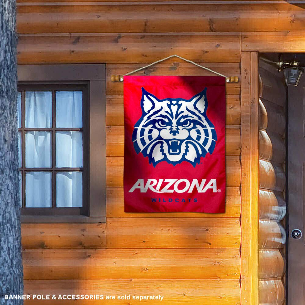 Arizona Wildcats Red Double Sided and Two Sided House Flag