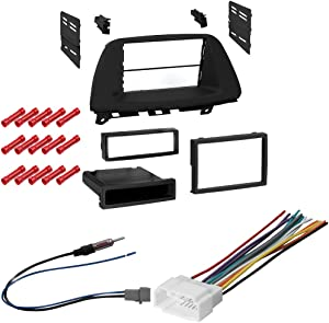CACHÉ KIT305 Bundle with Car Stereo Installation Kit for 2005 – 2007 Honda Odyssey – in Dash Mounting Kit, Antenna, and Harness for Single Double Din Radio Receivers (4 Item)