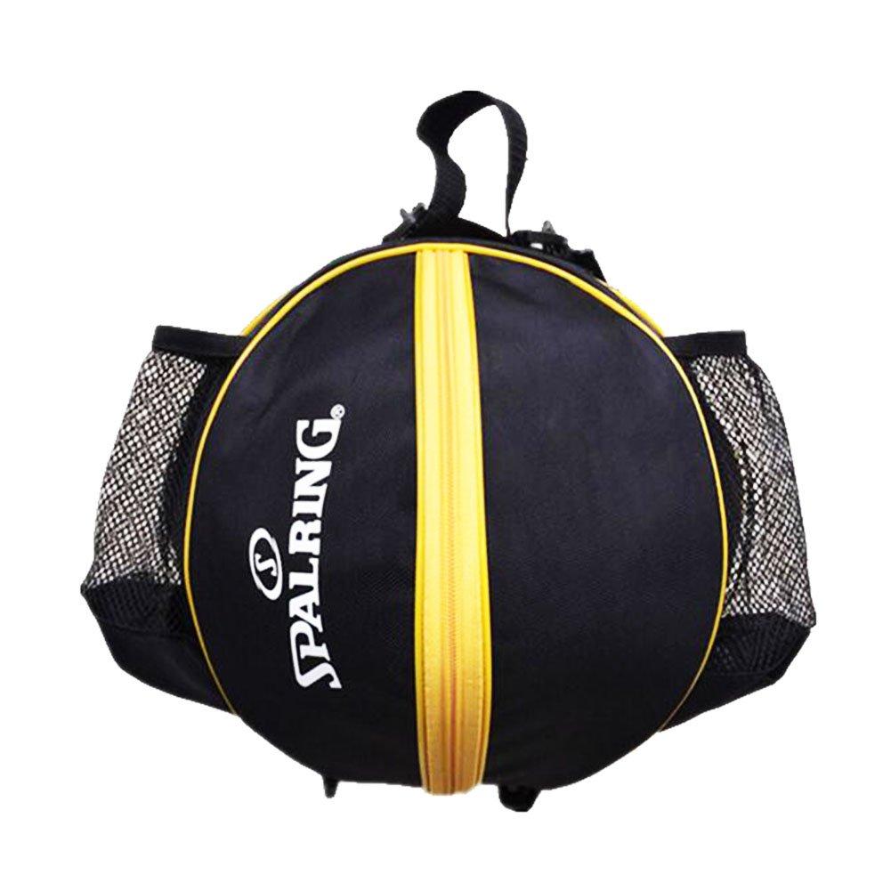 George Jimmy Fashion Cool Basketball Bag Training Bag Single-shoulder Soccer Bag-Black