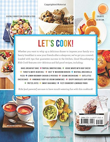 Good Housekeeping Kids Cook!: 100+ Super-Easy, Delicious Recipes (Good Housekeeping Kids Cookbooks) by Hearst (Image #1)