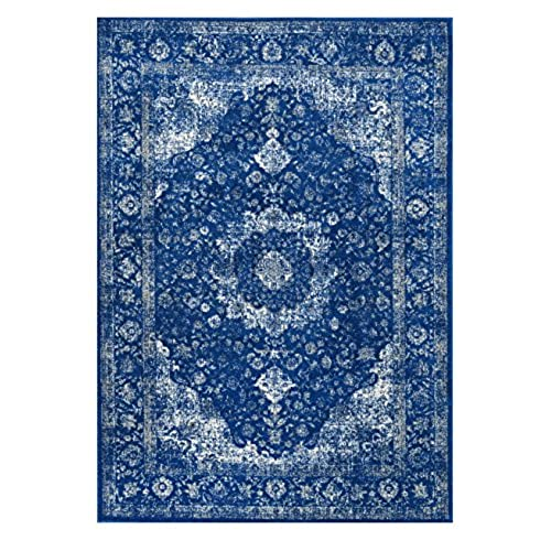 Blue Persian Rug: Amazon.com