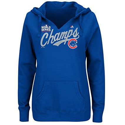 online retailer 9f42f f4100 Amazon.com : Majestic Athletic Chicago Cubs Women's 2016 ...