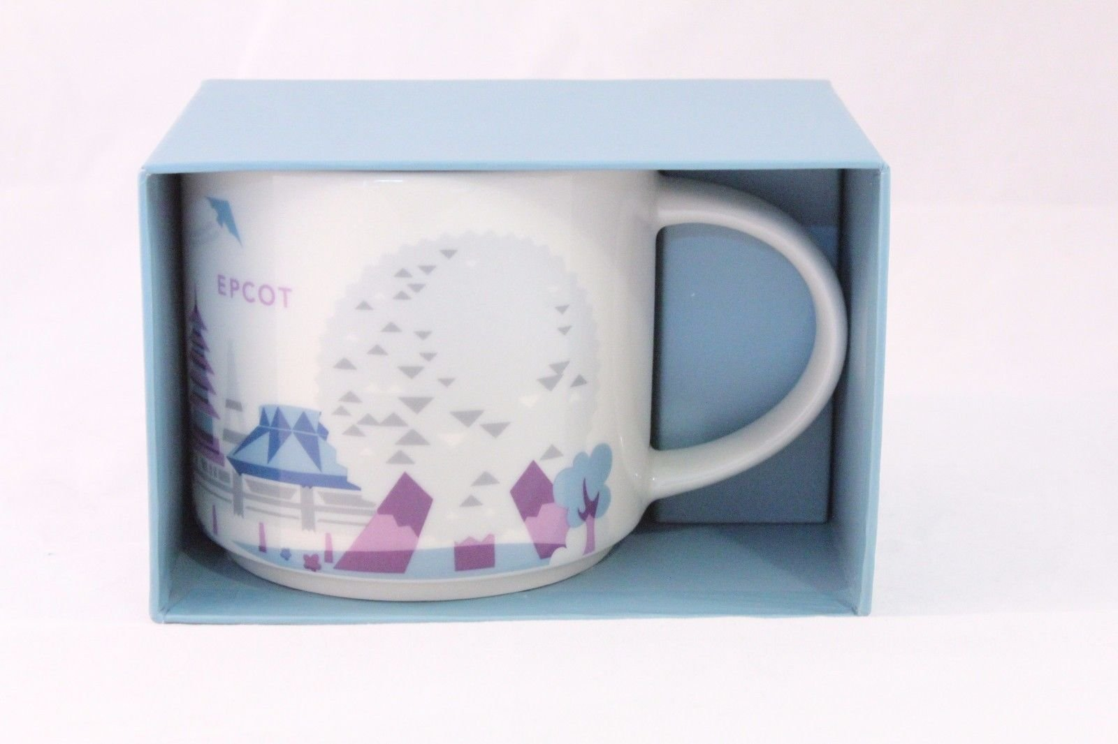 Disney World Starbucks Epcot You Are Here Collection Coffee Mug Version 2
