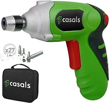Casals C01249000 Atornillador a batería de litio, 3.6 W, 3.6 V ...