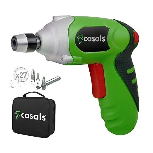 Casals C01249000 Atornillador a batería de litio, 3.6 W, 3.6 V, Multicolor