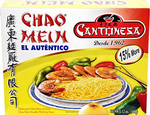 Cantonesa Chao Mein Noodles With Soy Sauce, 12 oz