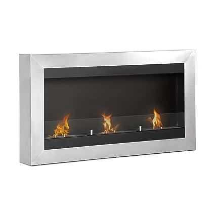 amazon com ignis ventless bio ethanol fireplace magnum with safety rh amazon com ignis ethanol fireplace reviews ignis ventless bio ethanol fireplace burner insert eb1400