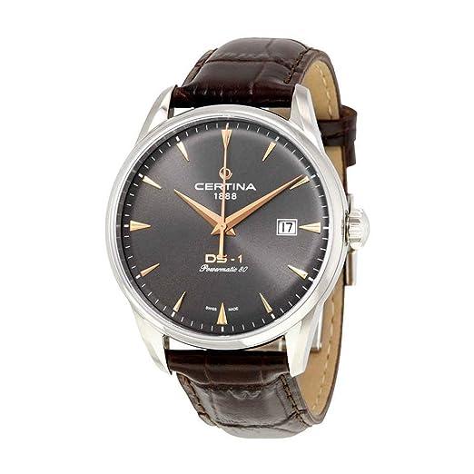 Certina DS Powermatic 80 C029.807.16.081.01 Reloj Automático para hombres Reserve de marcha de 80 horas: Amazon.es: Relojes