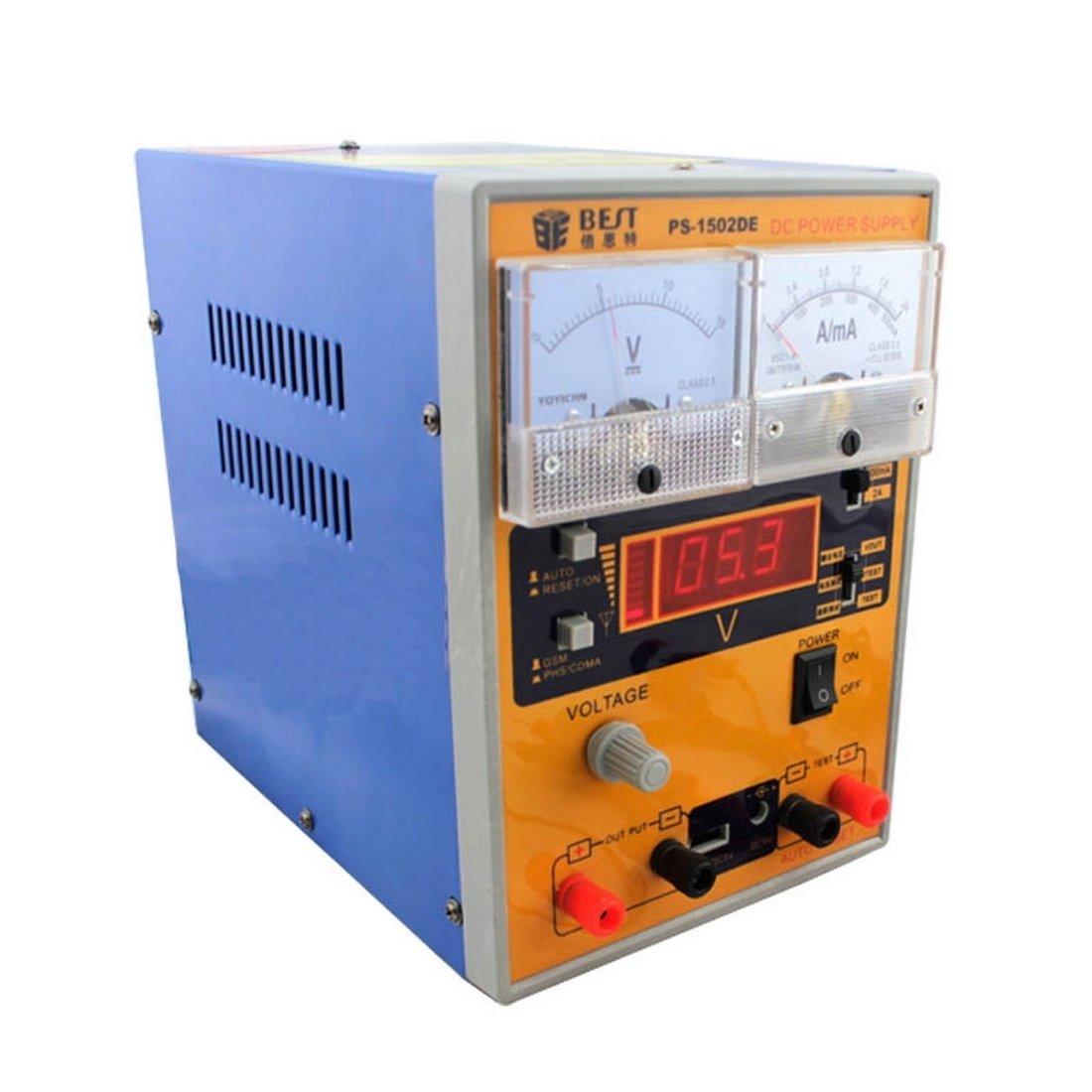 Reparatursätze , BEST BST-1502DE 220V AC Handy-Reparatur-Werkzeug-15V 2A DC geregelte Stromversorgung, EU-Stecker ( SKU : S-ETP-2331B )